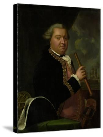 Portrait of Rear-Admiral Willem Crul--Stretched Canvas Print