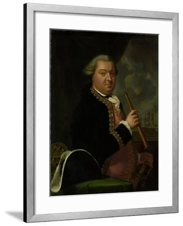 Portrait of Rear-Admiral Willem Crul--Framed Art Print