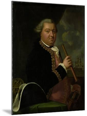 Portrait of Rear-Admiral Willem Crul--Mounted Art Print