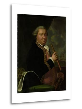 Portrait of Rear-Admiral Willem Crul--Metal Print