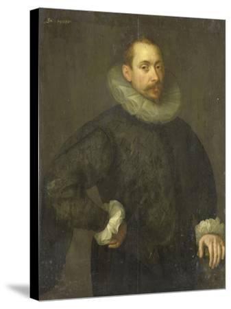 Portrait of Jean Fourmenois-Gortzius Geldorp-Stretched Canvas Print