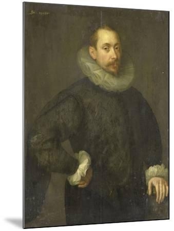 Portrait of Jean Fourmenois-Gortzius Geldorp-Mounted Art Print