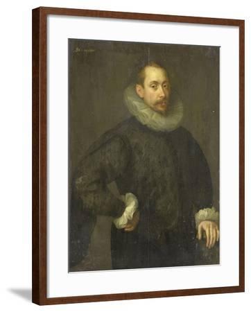 Portrait of Jean Fourmenois-Gortzius Geldorp-Framed Art Print