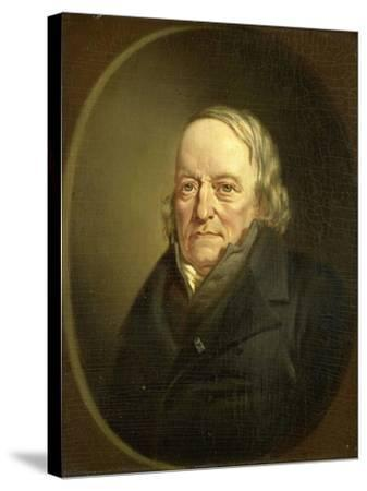 Portrait of Johannes Kinker, Poet and Philosopher, Professor at Liege-Jan Cornelis van Rossum-Stretched Canvas Print