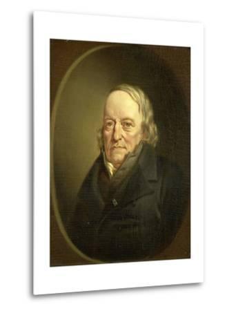 Portrait of Johannes Kinker, Poet and Philosopher, Professor at Liege-Jan Cornelis van Rossum-Metal Print