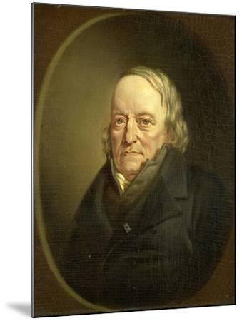 Portrait of Johannes Kinker, Poet and Philosopher, Professor at Liege-Jan Cornelis van Rossum-Mounted Art Print