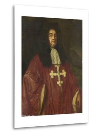 Portrait of Johannes Camprich Van Cronefelt-Simon Ruys-Metal Print