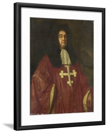 Portrait of Johannes Camprich Van Cronefelt-Simon Ruys-Framed Art Print