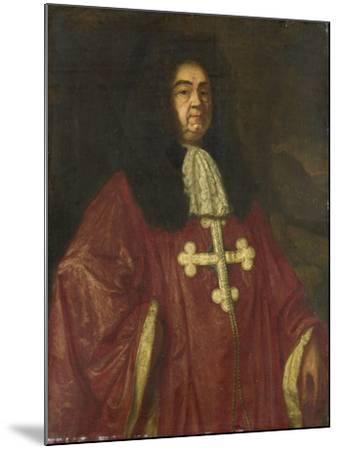 Portrait of Johannes Camprich Van Cronefelt-Simon Ruys-Mounted Art Print