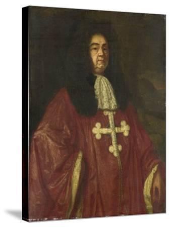 Portrait of Johannes Camprich Van Cronefelt-Simon Ruys-Stretched Canvas Print