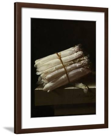 Still Life with Asparagus-Adriaen Coorte-Framed Art Print