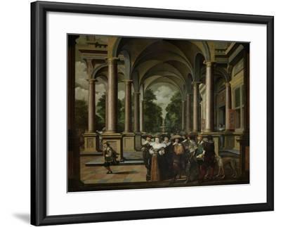A Gallery-Dirck Van Delen-Framed Art Print