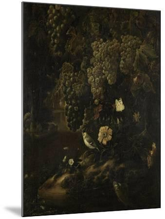Grapes, Flowers and Animals-Isac Vromans-Mounted Art Print