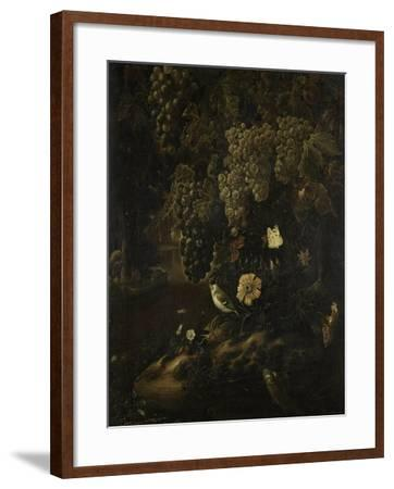 Grapes, Flowers and Animals-Isac Vromans-Framed Art Print