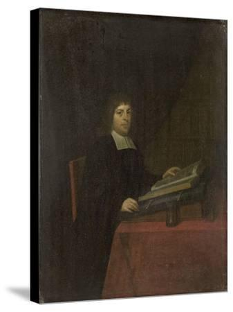 Portrait of a Clergyman-Roelof Koets II-Stretched Canvas Print