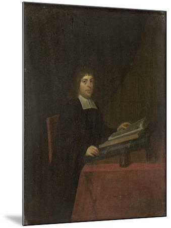 Portrait of a Clergyman-Roelof Koets II-Mounted Art Print