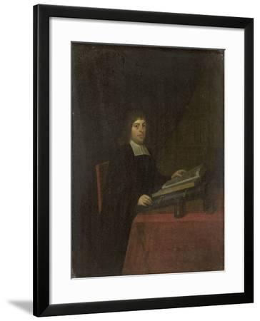 Portrait of a Clergyman-Roelof Koets II-Framed Art Print