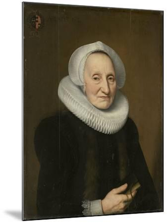 Portrait of Belia Claesdr- Bartholomeus Sarburgh & Willem Bartsius-Mounted Art Print