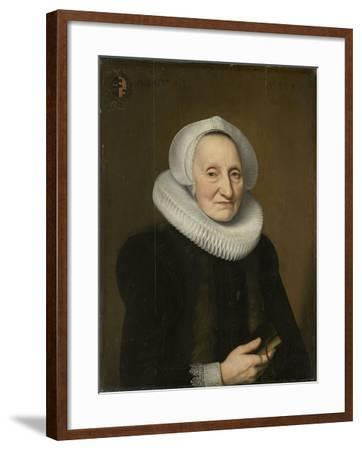 Portrait of Belia Claesdr- Bartholomeus Sarburgh & Willem Bartsius-Framed Art Print