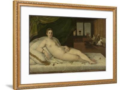 Reclining Venus-Lambert Sustris-Framed Art Print