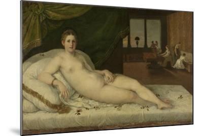 Reclining Venus-Lambert Sustris-Mounted Art Print