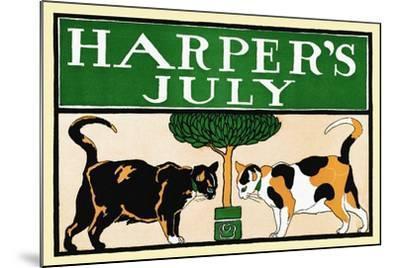 Harper's July-Edward Penfield-Mounted Art Print