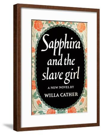 Sapphira and the Slave Girl--Framed Art Print