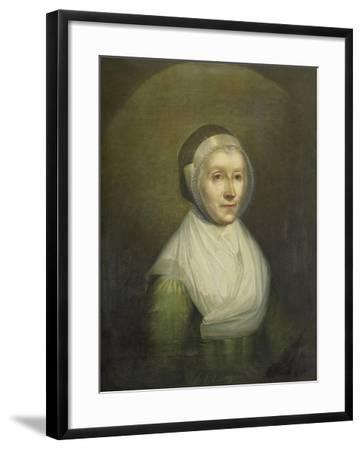 Portrait of Christina Sebilla Charlotte Bakhuizen-Benjamin Wolff-Framed Art Print
