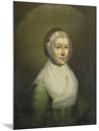 Portrait of Christina Sebilla Charlotte Bakhuizen-Benjamin Wolff-Mounted Art Print