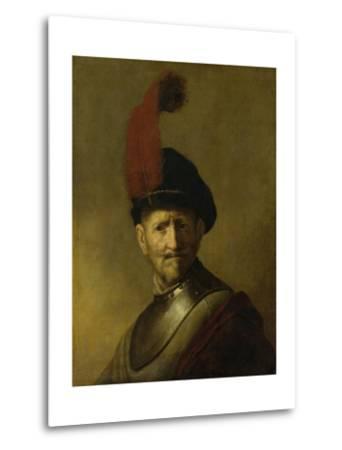 Portrait of a Man-Rembrandt van Rijn-Metal Print