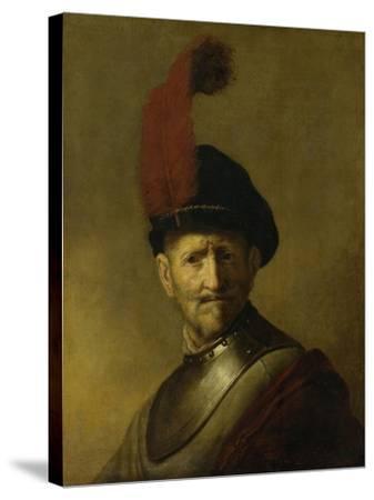 Portrait of a Man-Rembrandt van Rijn-Stretched Canvas Print