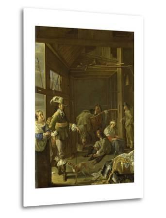 A Cavalry Stable-Jacob Duck-Metal Print
