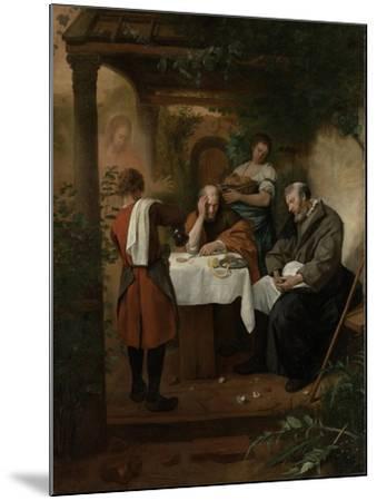 Supper at Emmaus-Jan Havicksz Steen-Mounted Art Print