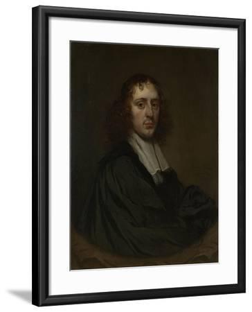 Portrait of a Man, Pieter Van Anraedt.-Pieter van Anraedt-Framed Art Print