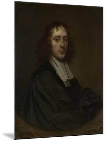 Portrait of a Man, Pieter Van Anraedt.-Pieter van Anraedt-Mounted Art Print