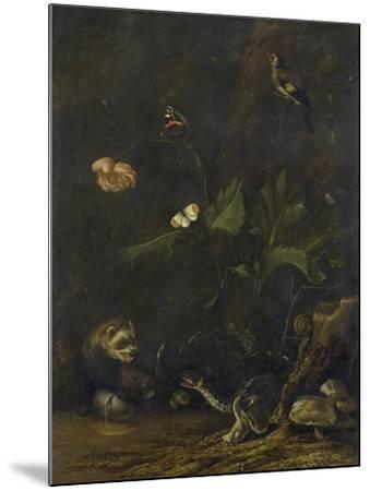 Animals and Plants-Anthonie Van Borssom-Mounted Art Print