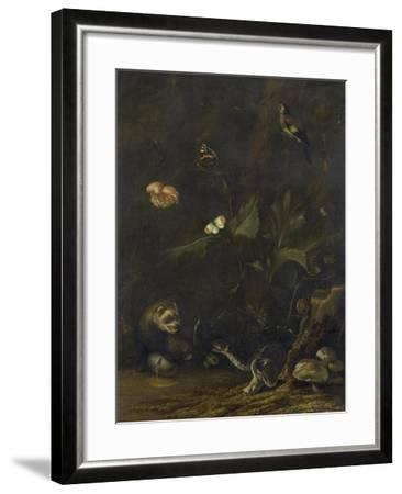 Animals and Plants-Anthonie Van Borssom-Framed Art Print