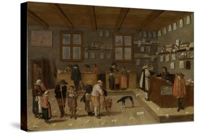 Lawyers Office-Pieter De Bloot-Stretched Canvas Print