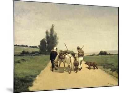 Gypsies on the Road-Karel Frederik Bombled-Mounted Art Print
