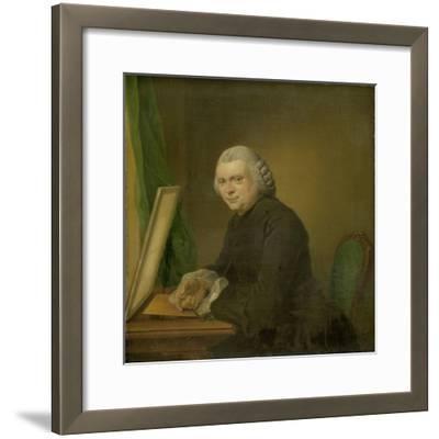 Portrait of Cornelis Ploos Van Amstel-Jacobus Buys-Framed Art Print