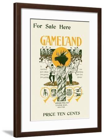 For Sale Here, Gameland--Framed Art Print