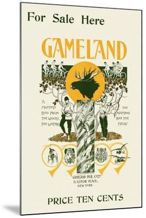 For Sale Here, Gameland--Mounted Art Print