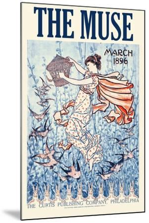The Muse Home Jurnal, March 1896--Mounted Art Print