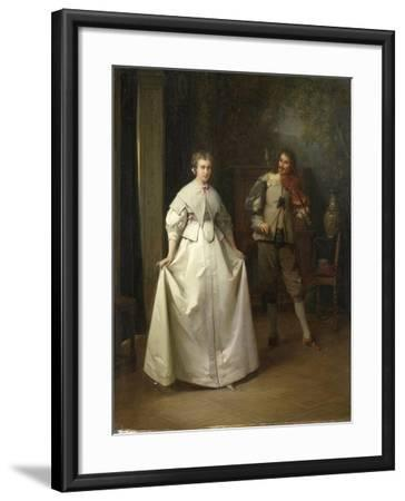 Dance-Aime Gabriel Adolphe Bourgoin-Framed Art Print