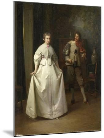 Dance-Aime Gabriel Adolphe Bourgoin-Mounted Art Print