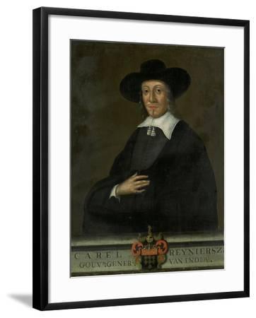 Portrait of Karel Reyniersz, Governor-General of the Dutch East Indies--Framed Art Print