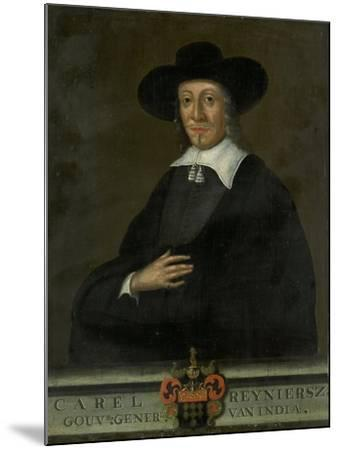 Portrait of Karel Reyniersz, Governor-General of the Dutch East Indies--Mounted Art Print