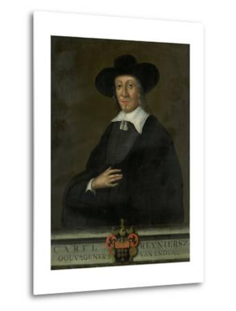 Portrait of Karel Reyniersz, Governor-General of the Dutch East Indies--Metal Print