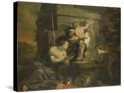 Granida and Daifilo-Gerard De Lairesse-Stretched Canvas Print