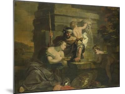 Granida and Daifilo-Gerard De Lairesse-Mounted Art Print